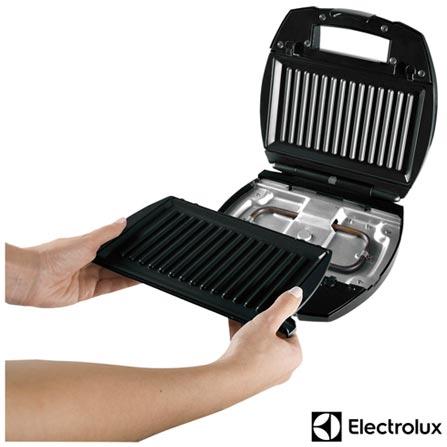 Sanduicheira Chef Electrolux - GSG20, 110V, 02 Sanduiches, Grelhar, 800 W