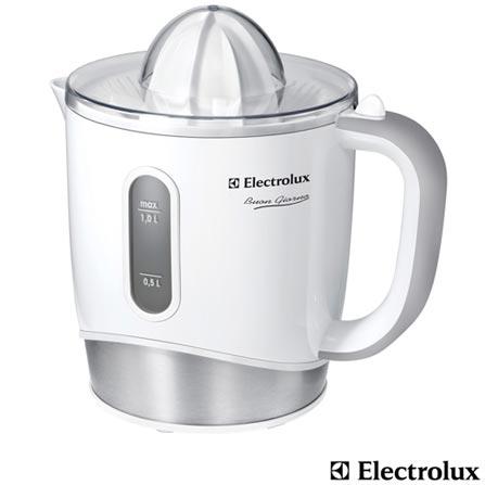 Espremedor de Frutas Electrolux Buon Giorno, Branco - JPB10, 110V, 220V, Bivolt, Bivolt