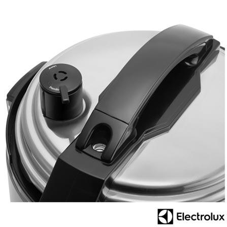 Panela de Pressão Elétrica Electrolux Carioquinha - PCE10, 110V, 220V, Inox, Panela de Pressão Elétrica, 3 Litros, Não especificado, Sim, Sim, 700 W