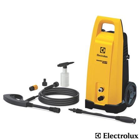 Lavadora de Alta Pressão Electrolux - PWS20, 110V, 220V, Amarelo e Preto, Lavadora de Alta Pressão, 2200 Libras, 1450 W, 12 meses