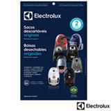 Saco Descartável para Aspirador Azul SBECL - Electrolux