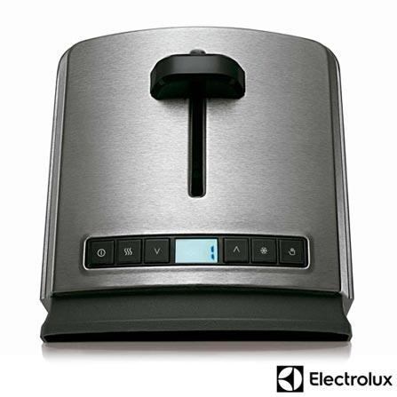 Torradeira com 08 Níveis de Tostagem Pro Electrolux - TOP10, 110V, Aço Escovado, 02 Fatias, Não especificado