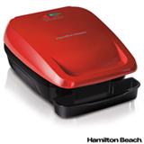 Grill Elétrico Hamilton Beach com Capacidade para 04 Hambúrgueres - 25355-BZ