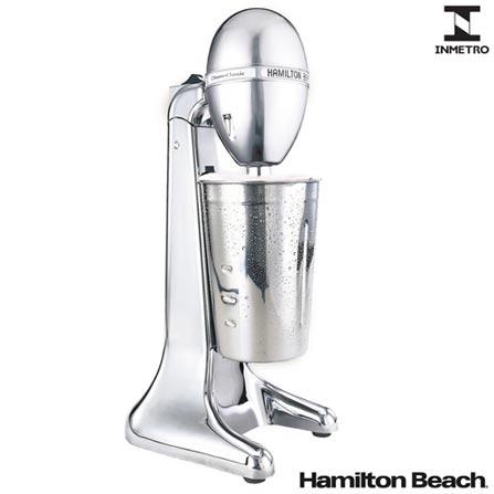 Drink Mixer Hamilton Beach Cromado com 02 Velocidades e Capacidade de 0,79 Litros - 730C-BZ, 110V, 220V, Cromado, 02, 0,79 Litros, 70 W, 36 meses