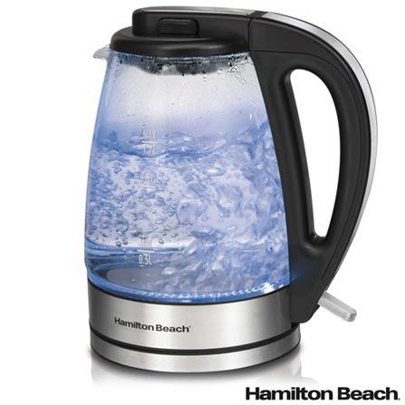 Torradeira Hamilton Beach 2 Fatias 110V - 22504BZ + Chaleira Elétrica Hamilton Beach 1,7 Litros 110V - 40865BZ, 0
