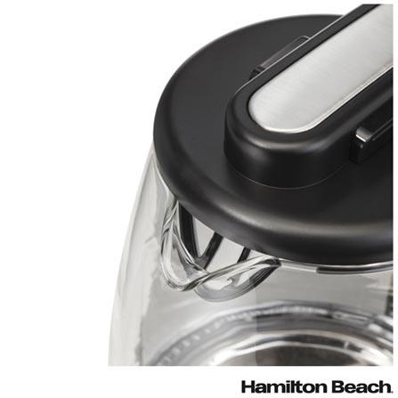 Torradeira Hamilton Beach 2 Fatias 220V - 22504BZ + Chaleira Elétrica Hamilton Beach 1,7 Litros 220V - 40865BZ, 0