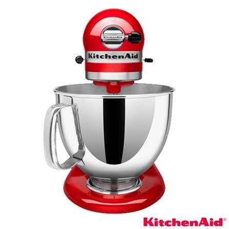Batedeira Planetaria KitchenAid Stand Mixer, 220V - KEA30CVPNA + Moedor de Alimentos Stand Mixer - KIO02AXONA, 0