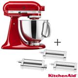 Batedeira Planetaria KitchenAid Stand Mixer, 110V - KEA33CV + Modelador Set Pasta Roller para Stand Mixer - KIN01CX