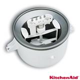 Acessorio Sorveteira KitchenAid para Stand Mixer Branco - KIP01CXONA