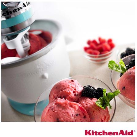 Acessorio Sorveteira KitchenAid para Stand Mixer Branco - KIP01CXONA, Branco, 12 meses