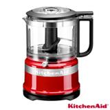 Mini Processador de Alimentos KitchenAid Empire Red com 02 Velocidades, Capacidade de 0,8 Litros - KJA03BV
