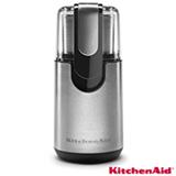 Moedor Elétrico KitchenAid para Grãos e Temperos Inox com 1 Velocidade, Capacidade de 125 ml e 62 ml - KJB22AR