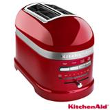 Torradeira com 07 Níveis de Tostagem Pro Line Candy Apple KitchenAid - KJC22A3