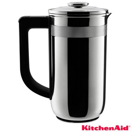 Cafeteira Francesa KitchenAid com 0,74 Litros de Capacidade em Inox - KXD03ARONA, Inox, 12 meses