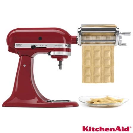 Ravioli Maker KitchenAid - KIN09ARONA, Inox, Moedor, Fatiador e Ralador, 12 meses
