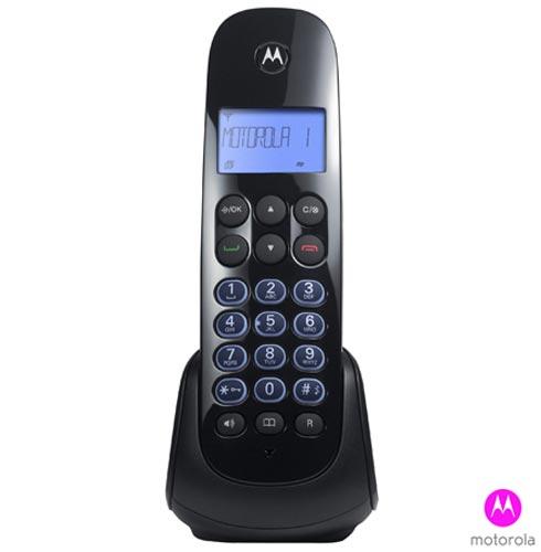 Telefone sem Fio Motorola com 01 Ramal, Viva-Voz, Identificador de Chamadas - MOTO750-MRD2, Bivolt, Bivolt, Preto, Sim, Sim, 01, Não, Sim, Sim