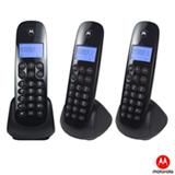 Telefone Digital sem Fio Motorola com Dect 6.0, Identificador de Chamadas, Display e 2 Ramais - Moto700-MRD3
