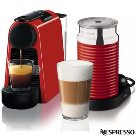 , 110V, 220V, Vermelho, Espresso automática, Cápsulas, 01 xícara, Café Espresso e Lungo, Não especificado, 110V - 1100W e 220V - 1450W, 12 meses, Sim