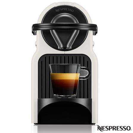 , 110V, 220V, Branco, Espresso automática, Cápsulas, 0,7 Litros, 19 Bars, Não especificado, Café Espresso e Lungo, Não especificado, 110 V - 1280W e 220V - 1150W, 12 meses