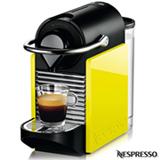 Cafeteira Nespresso Pixie Clips Black and Lemon Neon para Café Espresso