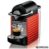 Cafeteira Nespresso Automática Pixie Vermelha para Café Espresso