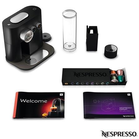 , 110V, 220V, Preto, Espresso automática, Cápsulas, 01 xícara, Café espresso, Não especificado, 1600 W, 12 meses, Sim