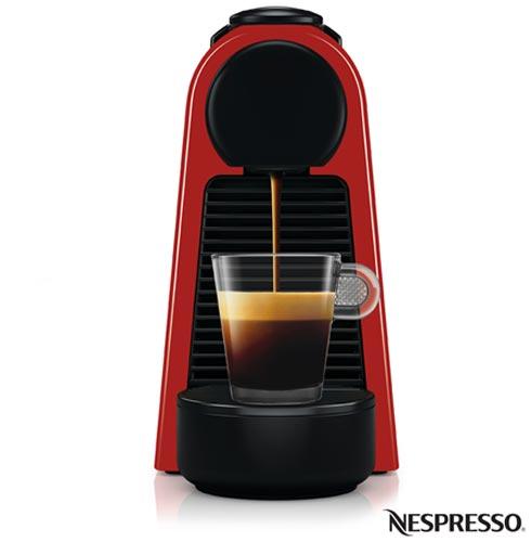 , 110V, 220V, Vermelho, Espresso automática, Cápsulas, 01 xícara, Café Espresso e Lungo, Não especificado, 110V - 1100W e 220V - 1450W, 12 meses
