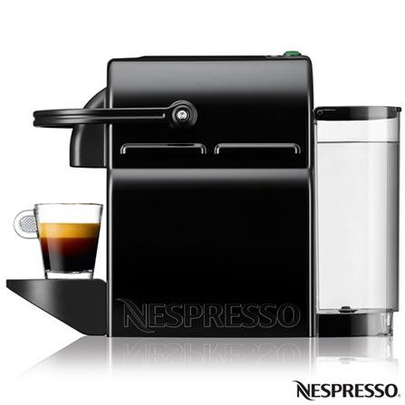 , 110V, 220V, Preto, Espresso automática, Cápsulas, 0,7 Litros, 19 Bars, Não especificado, Café Espresso e Lungo, Não especificado, 110 V - 1280W e 220V - 1150W, 12 meses