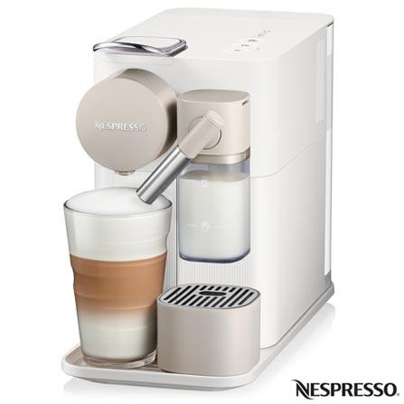 , 110V, 220V, Branco, Espresso automática, Cápsulas, 01 xícara, Espresso, Lungo, Cappuccino e Latte Macchiato, Não especificado, 1400 W, 12 meses