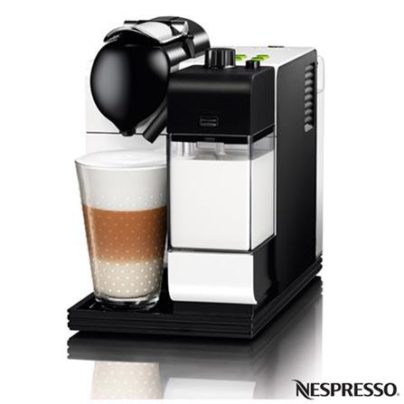 , 110V, Branco e Preto, Espresso automática, Cápsulas, 0,9 Litros, 19 Bars, 01 xícara, Café Espresso e Lungo, Não especificado, 1200 W, 12 meses