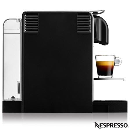 , 110V, 220V, Aço Escovado, Espresso automática, Cápsulas, 0,7 Litros, 19 Bars, 01 xícara, Café Espresso e Lungo, Plástico e Aço Escovado, 1300 W, 12 meses