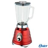 Liquidificador Oster Clássico com 03 Velocidades e 1,25 Litros de Capacidade Vermelho - 4126