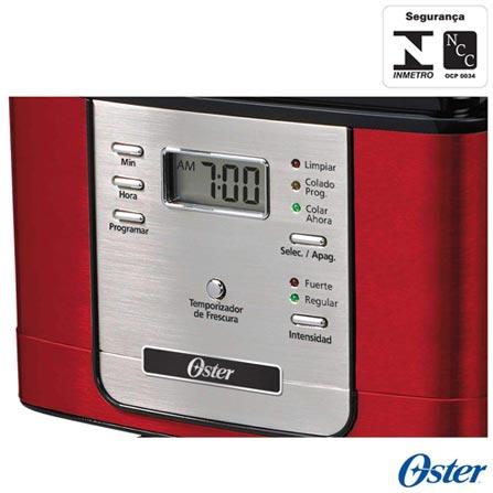 , 110V, 220V, Vermelho, Elétrica, Pó, 1,5 Litros, Não se aplica, 30 xícaras, Café, Vidro e Metal, 900 W, 12 meses