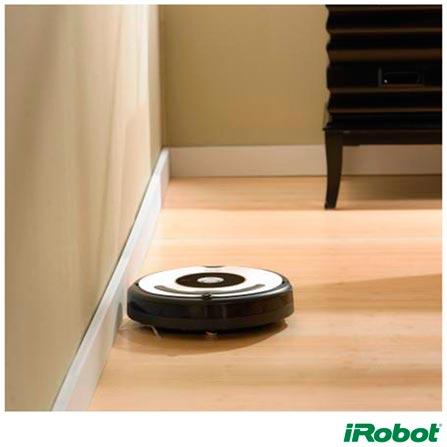 Robô Aspirador de Pó iRobot Roomba 621 com Capacidade de 0,5 Litros e Filtro Coletor - R621400, Bivolt, Bivolt, Branco, 0,5 Litros, Sim, Filtro, 33 W, 0,06 KW/h, 12 meses