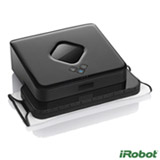 Robo Limpa Piso iRobot Braava 380t Preto