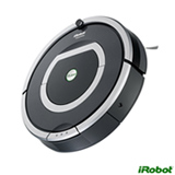 Robô Aspirador de Pó iRobot sem Fio com Capacidade de 0,6 Litros Preto e Cinza Bivolt - R780400