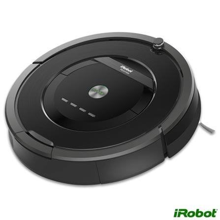 Robô Aspirador de Pó iRobot Roomba 880 com Capacidade de 0,5 Litro com Filtro Antialérgico - R880400, Bivolt, Bivolt, Preto, 0,5 Litros, Sim, Recipiente Plástico, 33 W, 0,06 KW/h, 12 meses