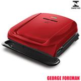 Grill Elétrico George Foreman com Capacidade para 04 Hambúrgueres - GRP1061R