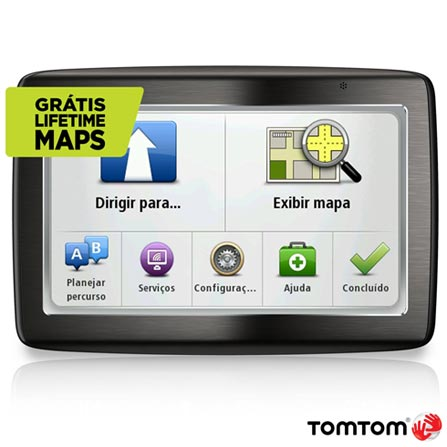 Navegador GPS TomTom 1435 M com Tela 4,3