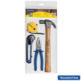 Kit Ferramentas com 04 Peças Tramontina - 43409101