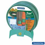Mangueira Flexível com 25 metros Jardim Flex Tramontina Verde com Suporte - 79172200