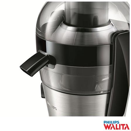 Centrífuga Juicer Philips Walita 700W Prata e Preto - RI1863, 110V, 220V, 700 W, Prata e Preto