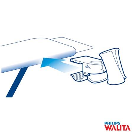 Ferro a Vapor Philips Walita - RI4410, 110V, Azul e Branco, Vapor, Não especificado, Sim, Polietileno, 110V - 1475 W e 220V - 2400 W, 24 meses