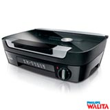 Grill de Mesa Walita Viva Collection com Chapa Dupla de 1500W Preto RI6360