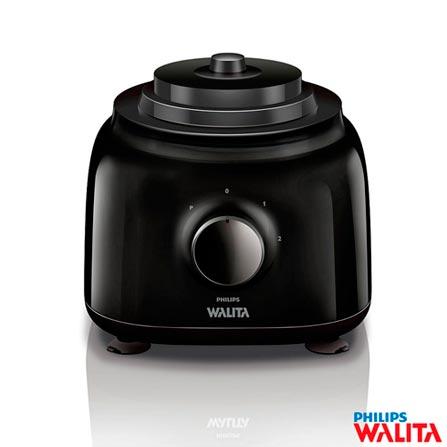 Processador de Alimentos Walita Daily Collection com 2 Velocidades e Capacidade de 1,2 L - Rl7629, 110V, 220V, Branco e Preto, 02, 1,2 Litros, 650 W, 24 meses