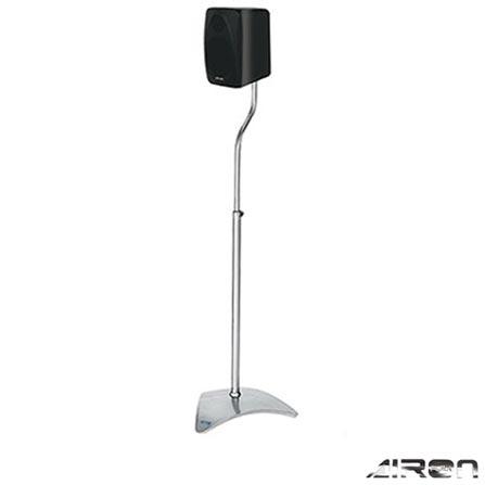 Pedestal para Caixa Acústica TT Mini Silver Airon - TTPEDMINI1AG, VD, Prata