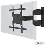 Suporte de Parede Articulado para TVs LCD, LED e Plasma de 32' a 55' Preto - WALLMA600 - Airon
