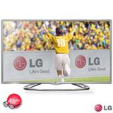 """TV LG Cinema 3D 47"""" 47LA6130 Full HD com Dual Play, Conversão de 2D para 3D, MHL, USB DivX HD e 4 óculos 3D inclusos"""