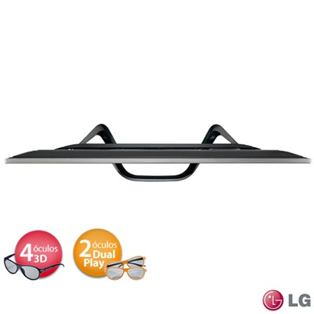 Smart TV 3D LED LG 47