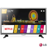 Smart TV LG LED HD 32 com WiDi, Painel IPS e Wi-Fi - 32LH570B